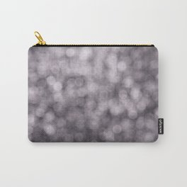 Abstract Series: Purple Carry-All Pouch