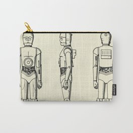 Robot C3PO-1979 Carry-All Pouch
