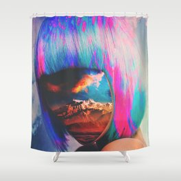 Internal Shower Curtain