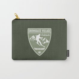 Snowmass Village Colorado Carry-All Pouch