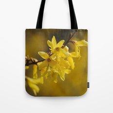 Gold Regen Tote Bag