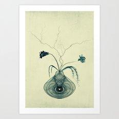 Madame rêve...... Art Print