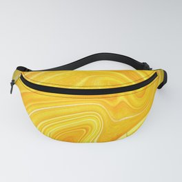 Yellow Agate Mineral Fanny Pack