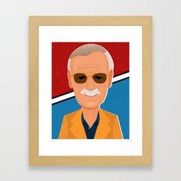 Stan Lee Framed Art Print