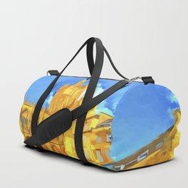 Bath Abbey Pop Art Duffle Bag