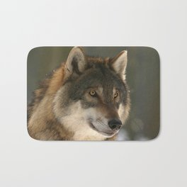 Lone Wolf Bath Mat