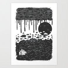 Topsy Turvy  Art Print
