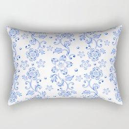 Chinoiserie Calico Rectangular Pillow