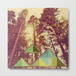 Campsite Metal Print