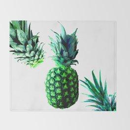 Malibu Pineapple | Anana Exotic Throw Blanket