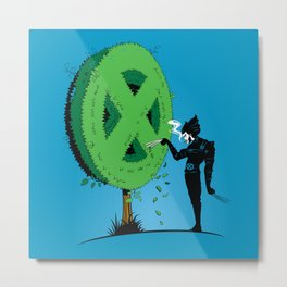 Logan Scissorhands Metal Print