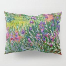 "Claude Monet ""The Iris Garden at Giverny"", 1899-1900 Pillow Sham"