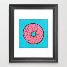 Donut Framed Art Print