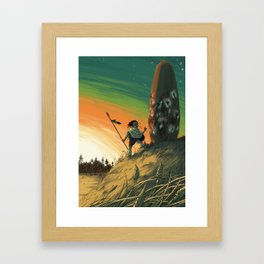 Megalith Framed Art Print