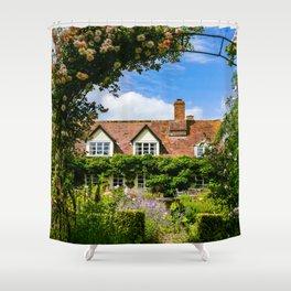 Cottage garden. v2 Shower Curtain