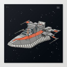 Space sneaker 2 Canvas Print