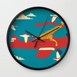 Red Barons Wall Clock