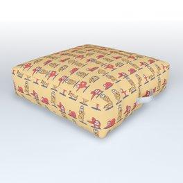 Sloth Yoga Outdoor Floor Cushion