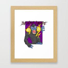 Beast Mode ver. 1 Framed Art Print