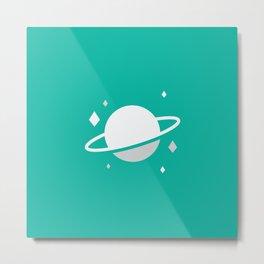 Planetary II Metal Print