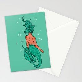 merm girl Stationery Cards