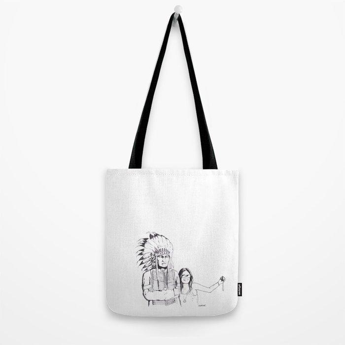 Please Smile Tote Bag
