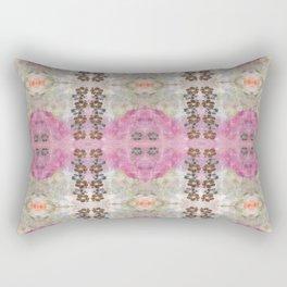 Mirror of Flowers Rectangular Pillow