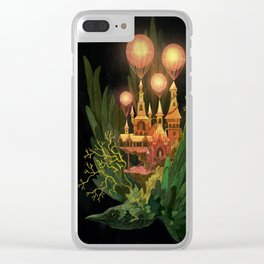 Bird Castle Clear iPhone Case