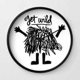 get wild Wall Clock