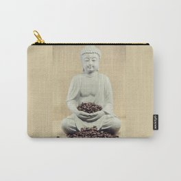 Coffee beans Buddha 3 Carry-All Pouch