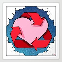 Love Is... Loops Art Print