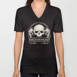 Legally Licensed Necromancer Unisex V-Neck