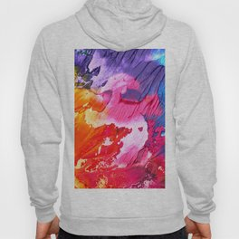 BRIGHT ABSTRACT PAINTING Hoody