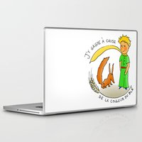 le petit prince Laptop & iPad Skins featuring petit by chicco montanari