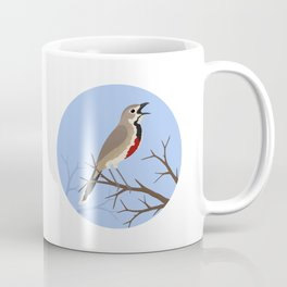 Rosy-patched Bush-shrike Coffee Mug