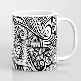Trumpeting Tangle Coffee Mug
