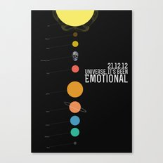 End Of The World? Canvas Print