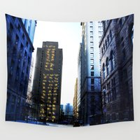 pittsburgh Wall Tapestries featuring Pittsburgh street by 100 Watt Photography