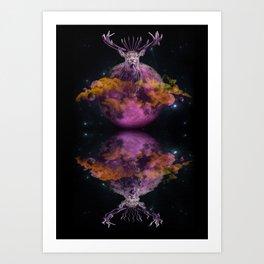 PinkMoon Art Print
