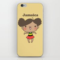 jamaica iPhone & iPod Skins featuring Jamaica by Cat in the Box