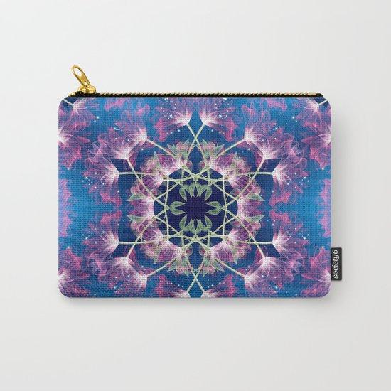 Flower Mandala v.3 Carry-All Pouch