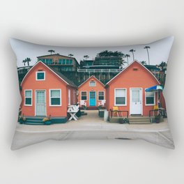Beach Bungalows Rectangular Pillow