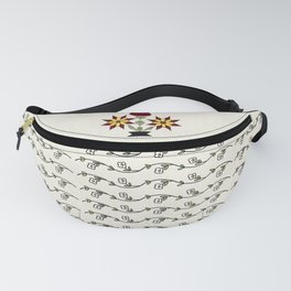 Dutch Country Floral Fanny Pack