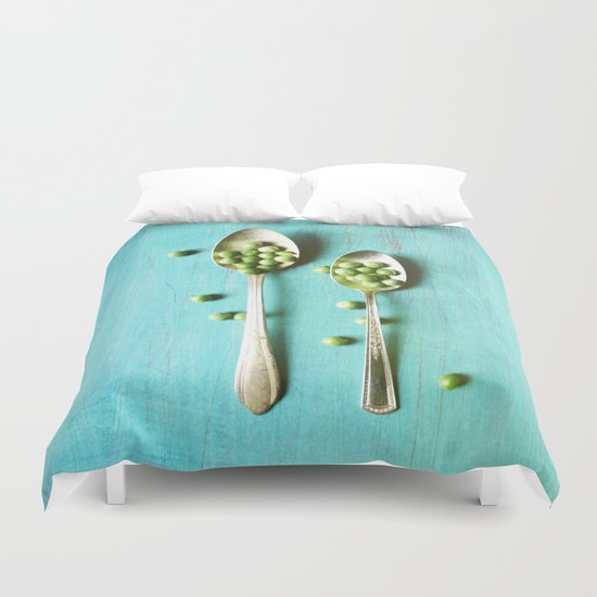 Give Peas a Chance Duvet Cover