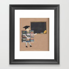 The English Teacher Framed Art Print