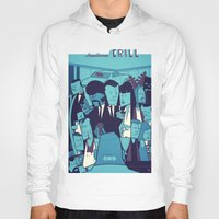 pulp fiction Hoodies featuring PULP FICTION variant by Ale Giorgini