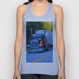 The Revelstoke Run Cargo Truck Unisex Tank Top