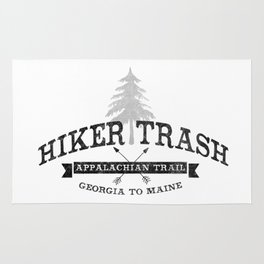 AT Hiker Trash - NoBo Rug