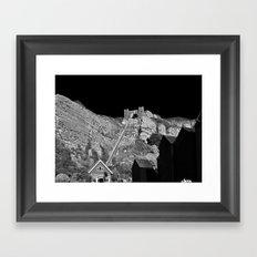 East Hill Cliff Railway Framed Art Print