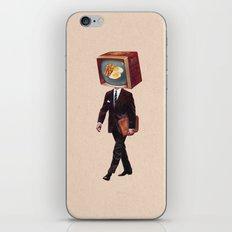 office worker iPhone & iPod Skin